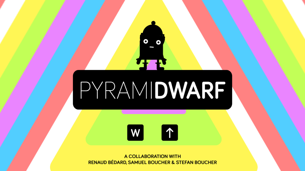Pyramidwarf's glorious title screen